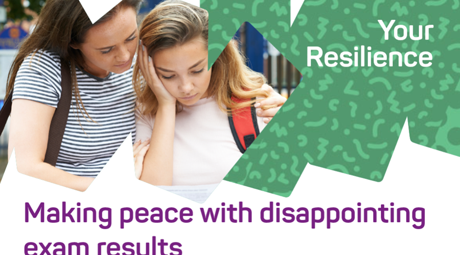 Making peace with disappointing exam results